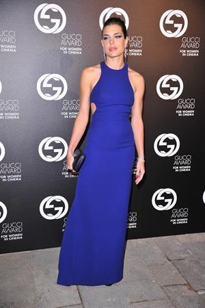 Charlotte Casiraghi - Gucci Award For Women In Cinema At The 69th Venice International Film Festival (Aug 31, 2012)