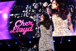 Cher Lloyd Hot 99.5's Jingle Ball 2012 at The Patriot Center in Washington DC 12/11/12