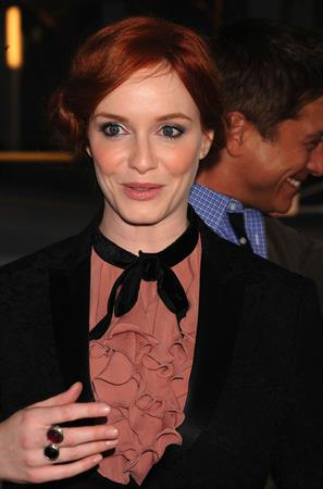 Christina Hendricks Drive Screening Los Angeles Film Festival on June 17, 2011