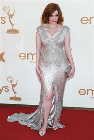 Christina Hendricks 63rd Primetime Emmy Awards on September 18, 2011