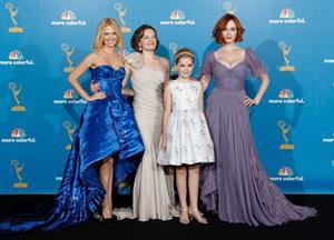 Christina Hendricks at the 62nd Annual Primetime Emmy Awards on August 29, 2010
