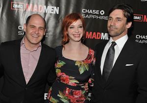 Christina Hendricks Mad Men Season 4 Finale screening at the 21 Club on October 17, 2010