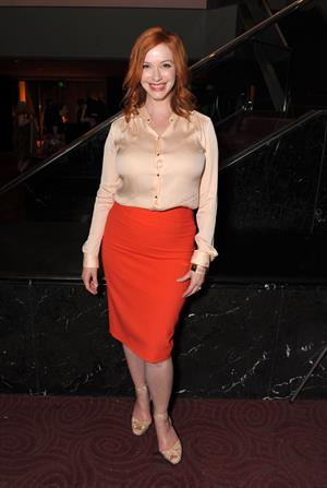 Christina Hendricks - Mad Men screening at the Academy of Television Arts & Sciences - Jun 10, 2012