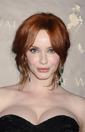 Christina Hendricks Johnnie Walker Father's Day gifting event in New York City on June 9, 2011