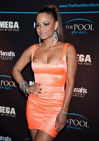 Christina Milian - The Pool After Dark at Harrah's Resort in Atlantic City (May 27, 2012)