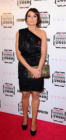 Christine Bleakley Cosmo Women of the Year on November 2, 2010
