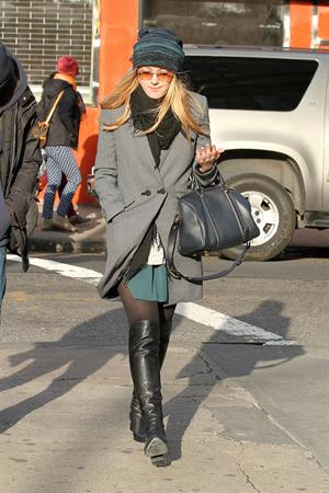 Dakota Fanning out and about in NY 11/28/12