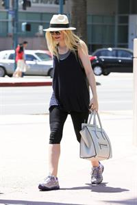 Dakota Fanning - makes time for the gym in Studio City August 9, 2012