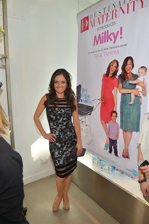 Danica McKellar attends the Milky!- Launch Event at A Pea In The Pod in Beverly Hills on May 2, 2013