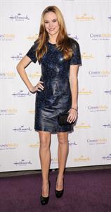 Danielle Panabaker Hallmark Channel TCA Winter Press Tour in Pasadena, January 4, 2013