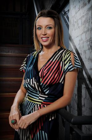 Dannii Minogue at a function at Sydney Theater Company on March 12, 2011