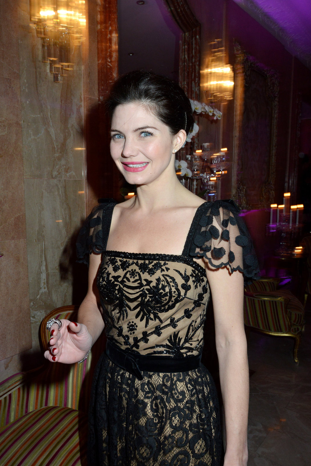 Delphine Chaneac The Bests Awards 2012 Ceremony in Paris (Dec 11, 2012)
