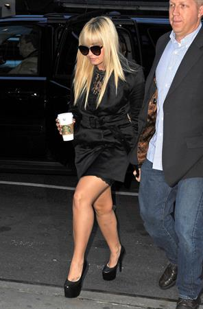 Demi Lovato  out and about in NY 10/11/12