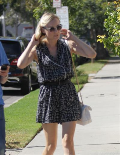 Diane Kruger Out and about in Hollywood