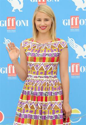 Dianna Agron - 2012 Giffoni Film Festival, Italy on July 22, 2012