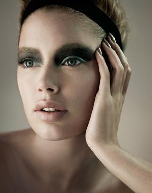 Doutzen Kroes Alex Caley Photoshoot for Elle France 2010