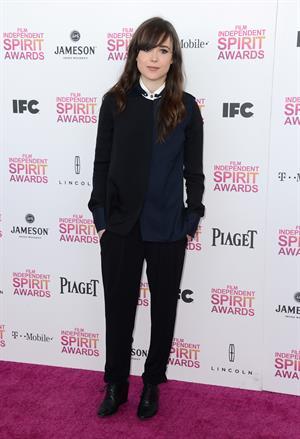 Ellen Page 2013 Film Independent Spirit Awards in Santa Monica - Feb. 23 2013