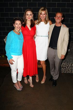 Emily Deschanel Humane Society of the United States Veg Appetit at Smogshoppe in LA on June 16, 2013