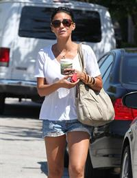 Emmanuelle Chriqui - Out And About In West Hollywood August 20, 2012