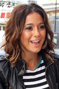 Emmanuelle Chriqui - Outside CityTV Studios in Toronto June 07, 2012