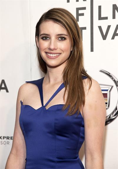 Emma Roberts  Adult World  screening at Tribeca Film Festival in New York, Apr. 18, 2013