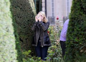 Emma Stone at Musee Rodin in Paris - October 4,2012