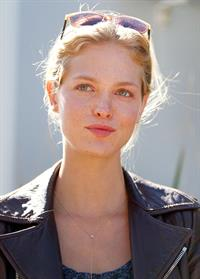 Erin Heatherton Bondi Icebergs at Bondi Beach in Sydney, Aug 20, 2013