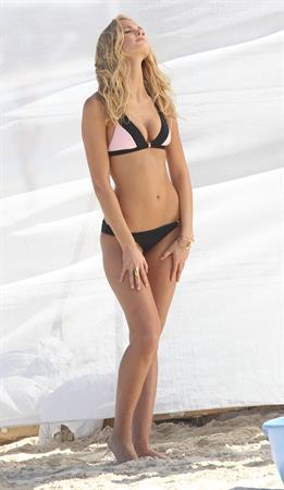 Erin Heatherton Victoria's Secret photoshoot in St. Barts 2/1/13