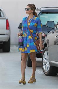 Eva Mendes in LA on Aug. 22, 2012