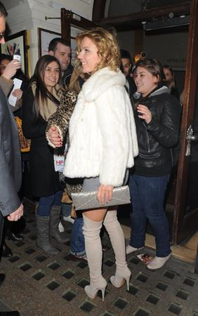 Geri Halliwell 'Viva Forever' at the Piccadilly Theatre in London 12/18/12