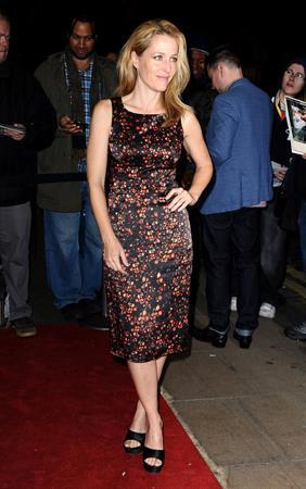 Gillian Anderson 56th BFI London Film Festival: Sister (Oct 12, 2012)