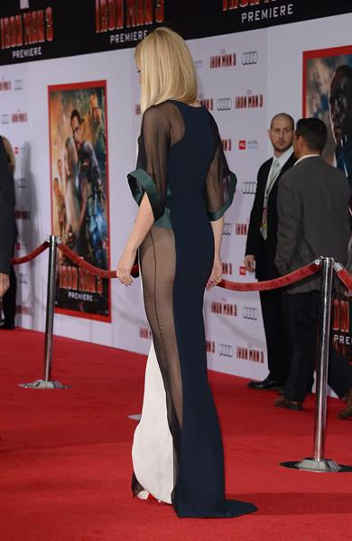 Gwyneth Paltrow 'Iron Man 3' premiere in Hollywood 4/24/13