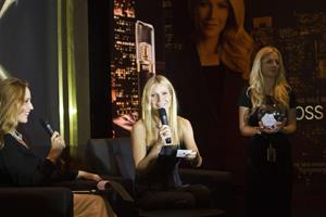 Gwyneth Paltrow makes an in store appearance for Boss Nuit at Paris Gallery, Dubai Mall on December 5, 2012