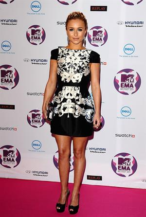 Hayden Panettiere - 2011 MTV European Music Awards