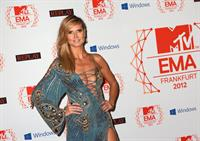 Heidi Klum MTV EMA's 2012 City Hall in Frankfurt on November 10, 2012