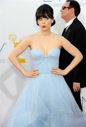 Zooey Deschanel - 64th Primetime Emmys Nokia Theatre LA & After Party Sept 23, 2012