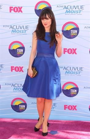 Zooey Deschanel - 2012 Teen Choice Awards in Universal City (July 22, 2012)