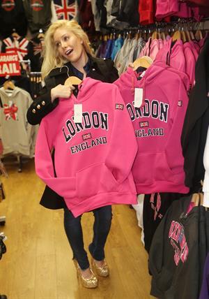 Heidi Montag Visiting London on January 3, 2013