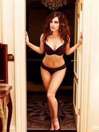 Kelly Brook in lingerie