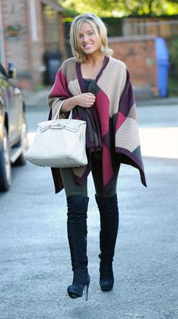 Helen Flanagan Manchester - October 6, 2012