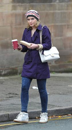 Helen Flanagan in Cheshire - October 2, 2012