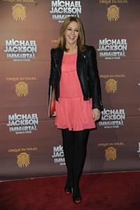 Helen Fospero  Michael Jackson The Immortal World Tour  European Premiere in London - October 12, 2012.