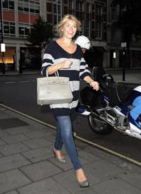 Holly Willoughby - Outside Radio 1 - September 10, 2012