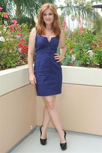 Isla Fisher - Bachelorette press conference portraits Aug 23, 2012