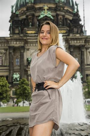 Jeanette Biedermann Jedermann Photocall & Pressekonferenz in Berlin on August 7, 2013