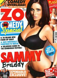 Sammy Braddy in lingerie