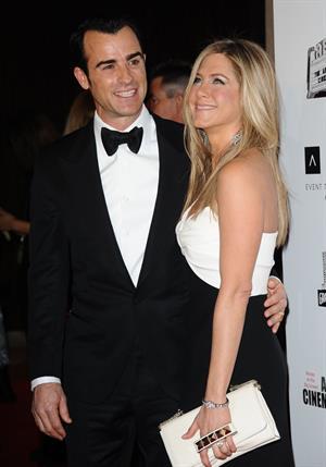 Jennifer Aniston 26th American Cinematheque Award Gala honoring Ben Stiller (November 15, 2012)