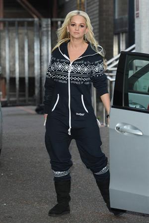 Jennifer Ellison ITV studios in London on January 4, 2011