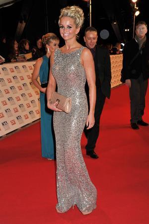 Jennifer Ellison National Television Awards on January 25, 2012