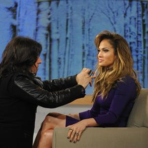 Jennifer Lopez Good Morning America in New York City on January 22, 2013